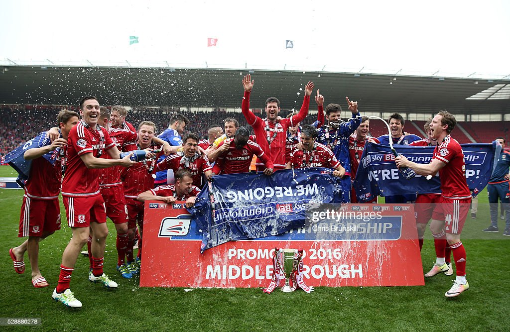 Middlesbrough United Kingdom  City new picture : ... the Riverside Stadium on May 7, 2016 in Middlesbrough, United Kingdom