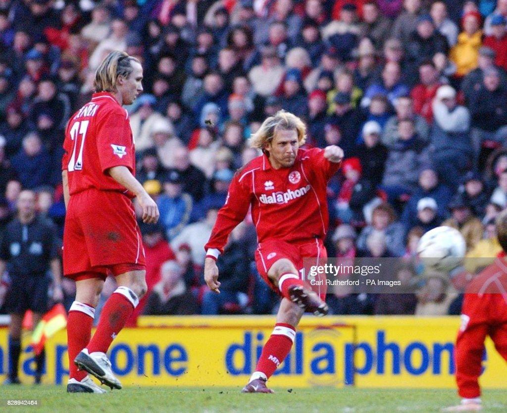 Gaizka Men ta Middlesbrough v Blackburn