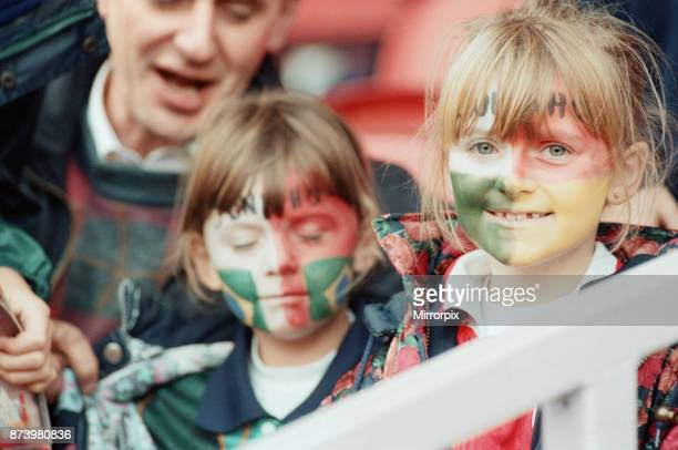 Middlesbrough's official opening of their new Riverside Stadium in a friendly against Italian side Sampdoria Young fans at the Middlesbrough vs...