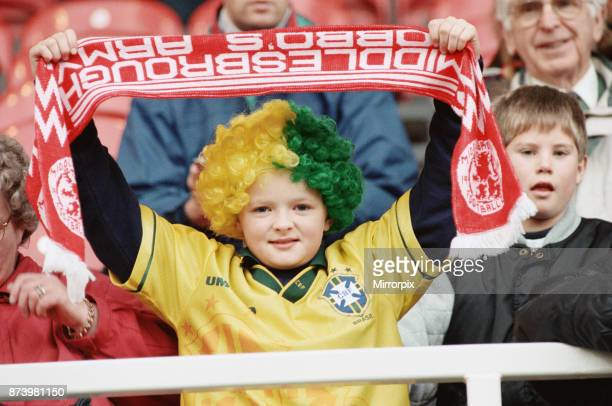 Middlesbrough's official opening of their new Riverside Stadium in a friendly against Italian side Sampdoria A young boy at the Middlesbrough...