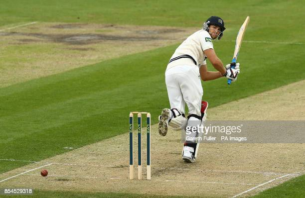 Middlesex batsman David Malan in action during the LV=County Championship Division One match at the BrightonandHoveJobscom County Ground Hove