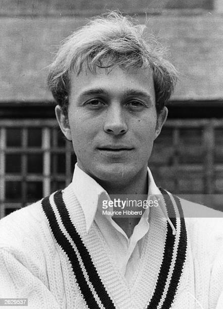 Middlesex cricketer and left hand bowler Phil Edmonds