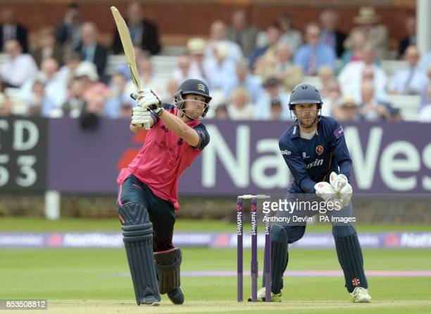 Middlesex's Dawid Malan bats during the Natwest T20 Blast South Division match at Lord's Cricket Ground London