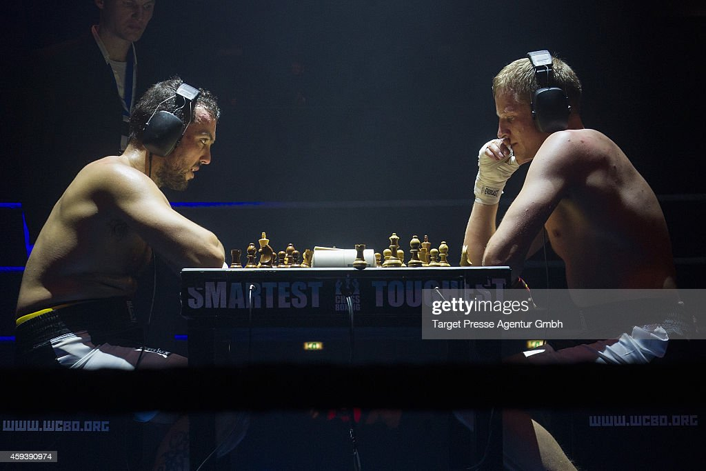 Middleweight World Champion in chessboxing Sven Rooch from ...