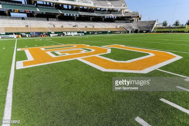 Midfield at McLane Stadium before the game between the Baylor Bears and the UTSA Roadrunners on September 9 2017 at McLane Stadium in Waco Texas UTSA...