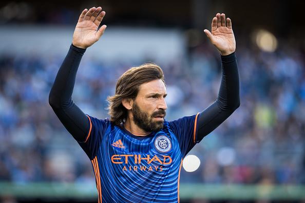 Soccer - MLS - New York City FC v Columbus Crew : News Photo