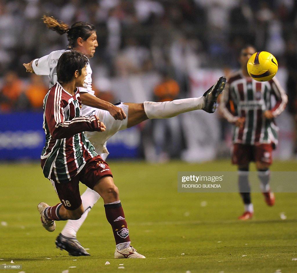 Midfielder Dario Conca of Brazil s Flumi