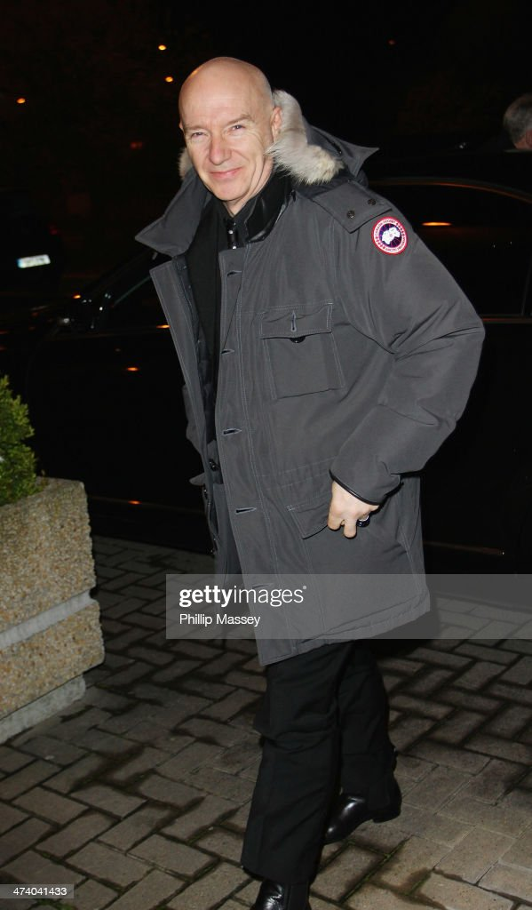 Celebrity Sightings At The Late Late Show - February 21, 2014
