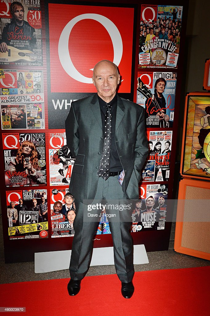 Midge Ure attends the Q Awards at The Grosvenor House Hotel on October 19 2015 in London England