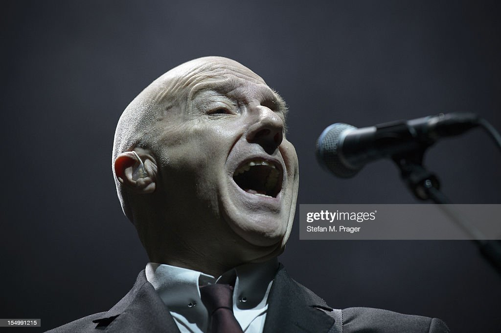 <a gi-track='captionPersonalityLinkClicked' href=/galleries/search?phrase=Midge+Ure&family=editorial&specificpeople=206656 ng-click='$event.stopPropagation()'>Midge Ure</a> of Ultravox performs on stage at Kesselhaus on October 29, 2012 in Munich, Germany.