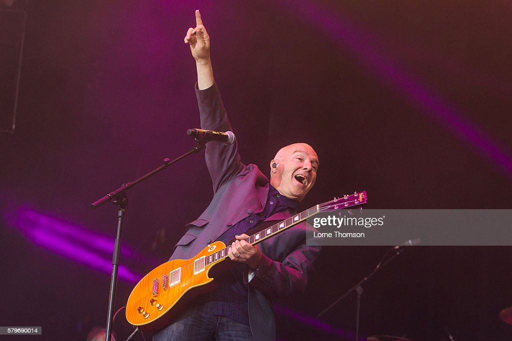 Midge Ure performs on day three of Rewind Scotland at Scone Palace on July 24 2016 in Perth Scotland