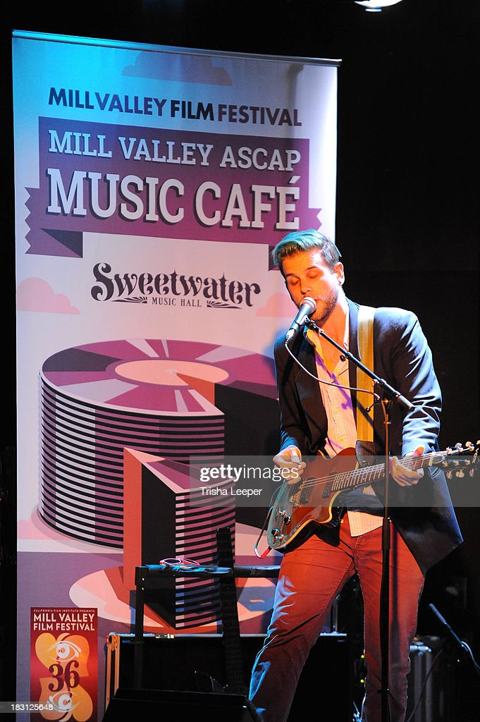 Midi Matilda performs at the 2nd Annual Mill Valley ASCAP Music Cafe - Day 1 at Sweetwater Music Hall & Cafe on October 4, 2013 in Mill Valley, California.