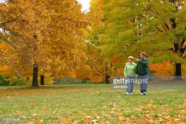 Midlife Couple: Walking & Talking