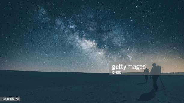Midnight journey across White Sands National Park
