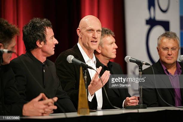 Midnight Oil during 2006 ARIA Awards Press Room at Acer ArenaSydney in Sydney NSW Australia