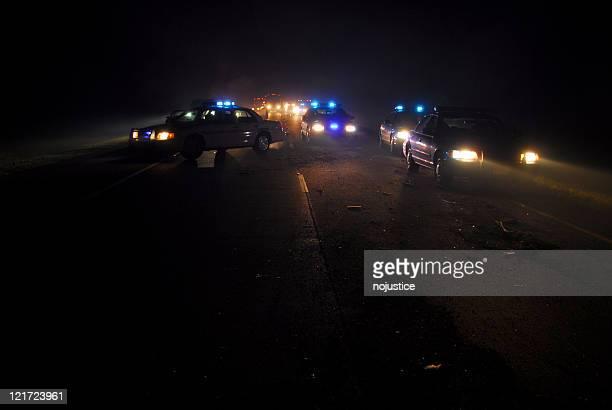 Midnight Police Blockade