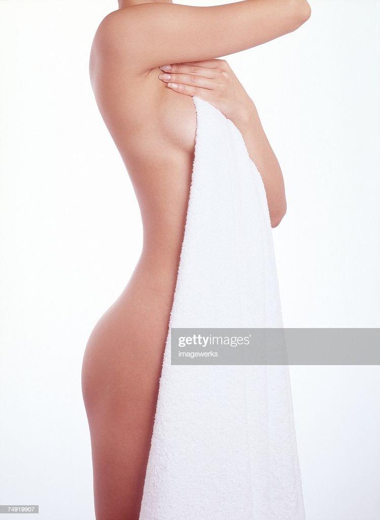 tan blond naked girl