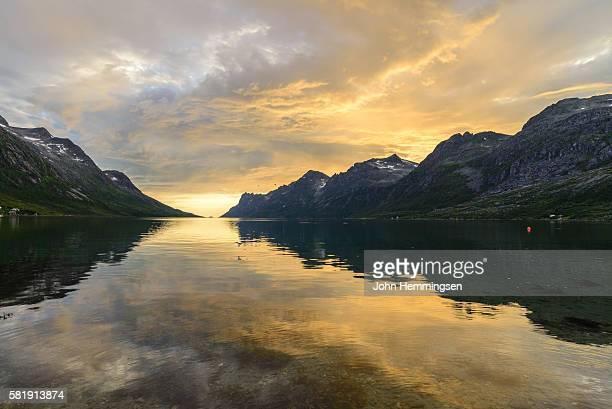 midsummer night in Ersfjordbotn