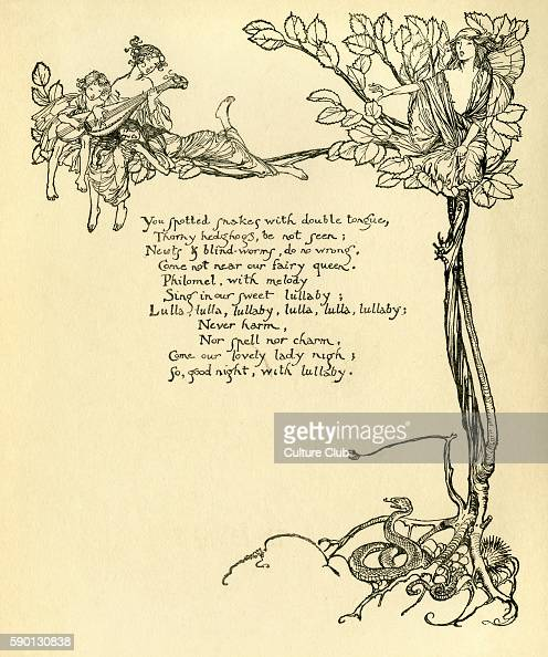 an analysis of the a midsummer nights dream a play by william shakespeare A summary of themes in william shakespeare's a midsummer night's dream learn exactly what happened in this chapter, scene, or section of a midsummer night's dream and what it means.