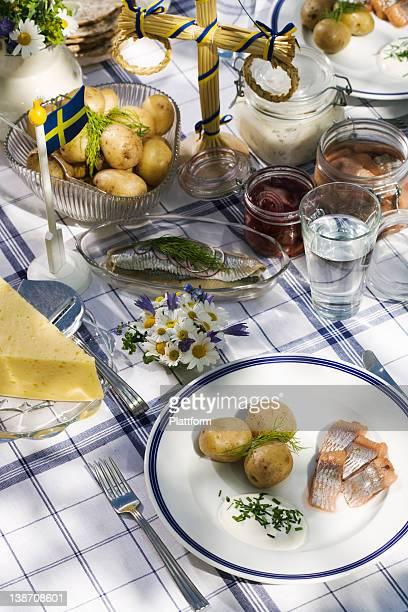 Midsummer party, Sweden.