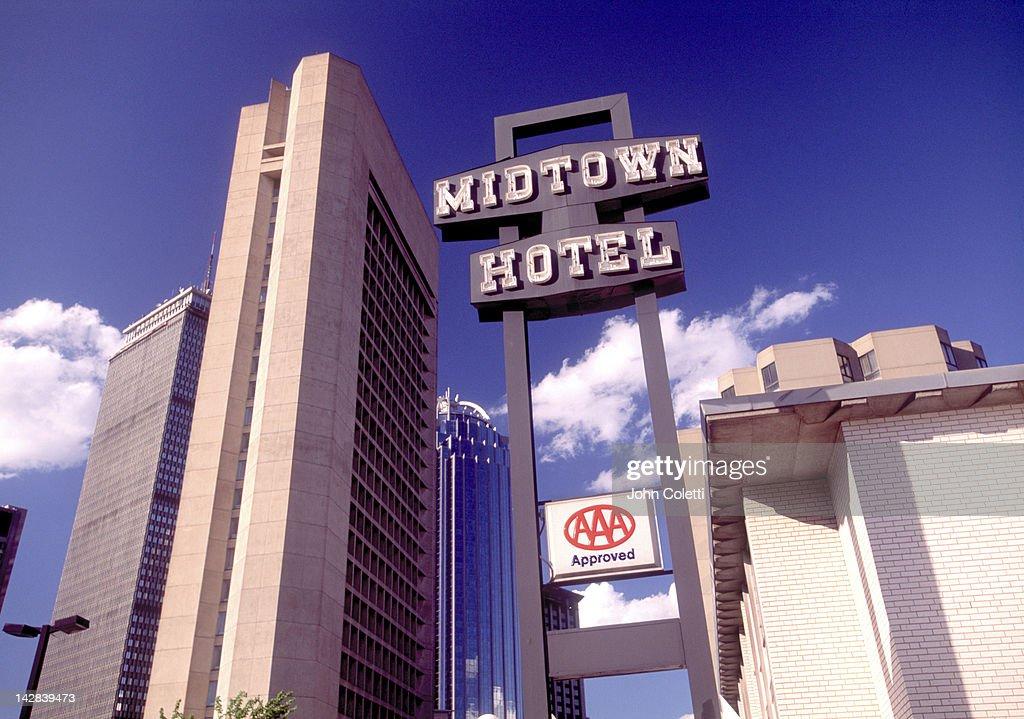Midtown Hotel, Boston, MA : Stock Photo