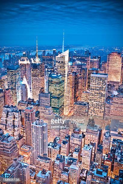 Midtown Manhattan from above