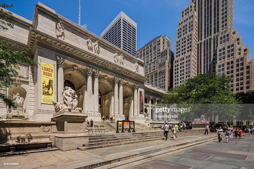 Midtown, New York Public Library