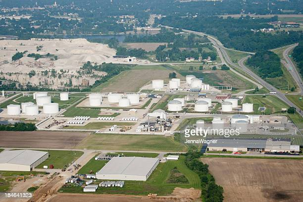 Midwest Aerial Oil Refinery