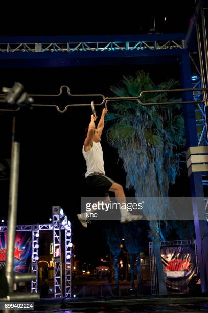 WARRIOR 'ANW MidWest Regionals' Episode 404 Pictured A competitor attempts to complete the world's hardest obstacle course
