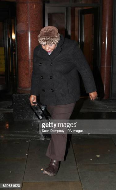 Midwife Christine Onade leaves the Nursing and Midwifery Council in central London where she is facing allegations alongside Midwife Yvonne...