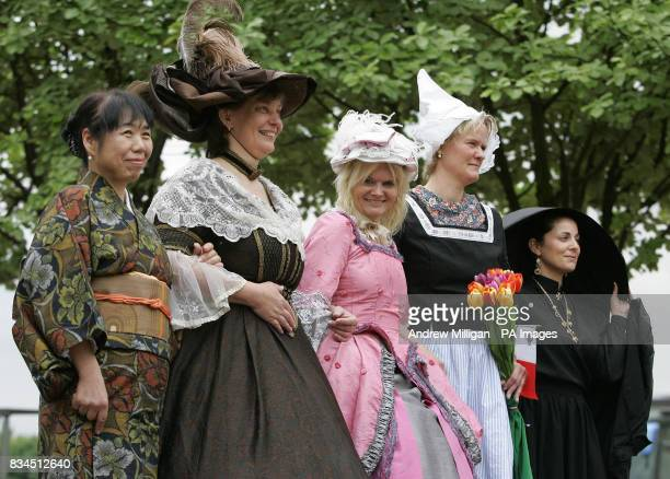 Midwifes Kazuyo Oishi from Japan Zuzana Stromerova from the Czech Republic Milena Dvorakova from the Czech Republic Erna Kerkhof from Holland and...