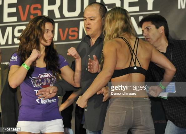 Strikeforce: Tate v Rousey Weigh-In Pictures | Getty Images