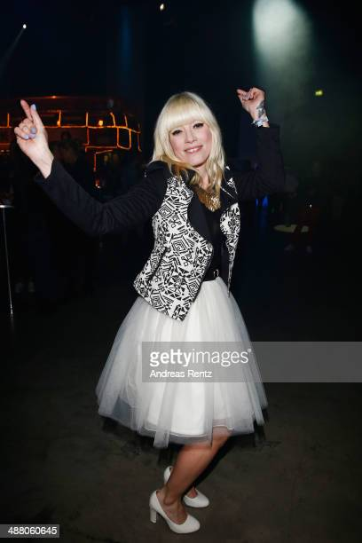 Mieze Katz attends the after show party to the final of 'Deutschland sucht den Superstar' show at Coloneum on May 3 2014 in Cologne Germany