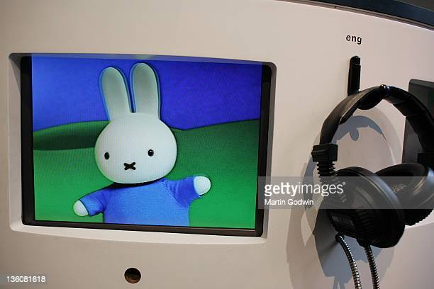 Miffy TV at the Dick Bruna House Museum in Utrecht The Netherlands 2nd October 2010