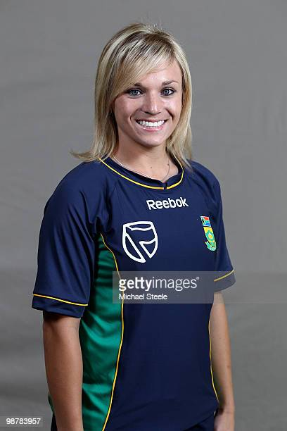 Mignon du Preez of South Africa Women's ICC T20 World Cup Squad on May 1 2010 in St Kitts Saint Kitts And Nevis