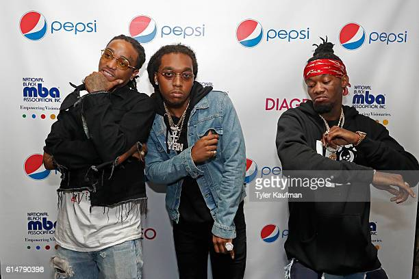 Migos attends The National Black MBA Association Presents 2nd Annual Pepsi MBA Live at The Metropolitan on October 14 2016 in New Orleans Louisiana