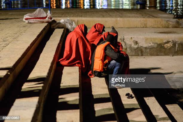 52 migrants among them one woman and two underaged boys were rescued by the Spanish Maritime Late at night on the 21st of June 2017 the Spanish...