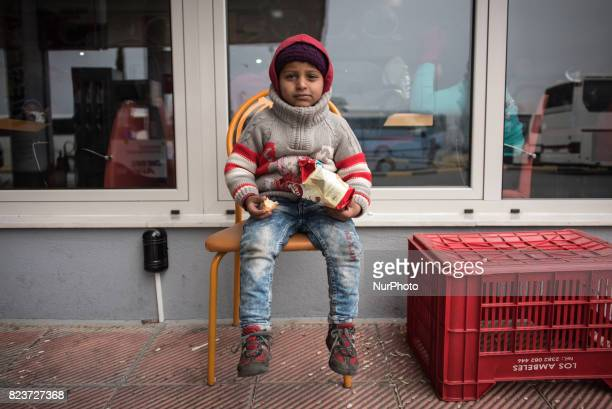 Migrants refugees and asylumseekers in Polykastro and Idomeni refugee camps in Northern Greece Photos taken 12 February 2016
