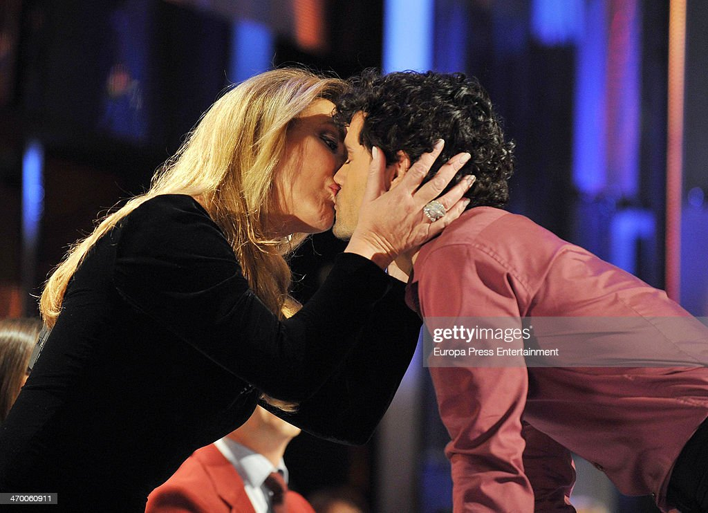 Miguel Abellan and Norma Duval during the gala of 'Mira quien baila' dancing Tv show on February 17 2014 in Madrid Spain