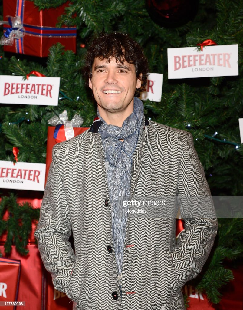 Miguel Abellan attends the inauguration of Beefeater London Market at the Palacio de Cibeles on December 6, 2012 in Madrid, Spain.