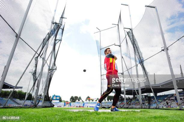 Miguel Alberto Blanco during the European Athletics Team Championships Super League at Grand Stade Lille Metropole on June 25 2017 in Lille France