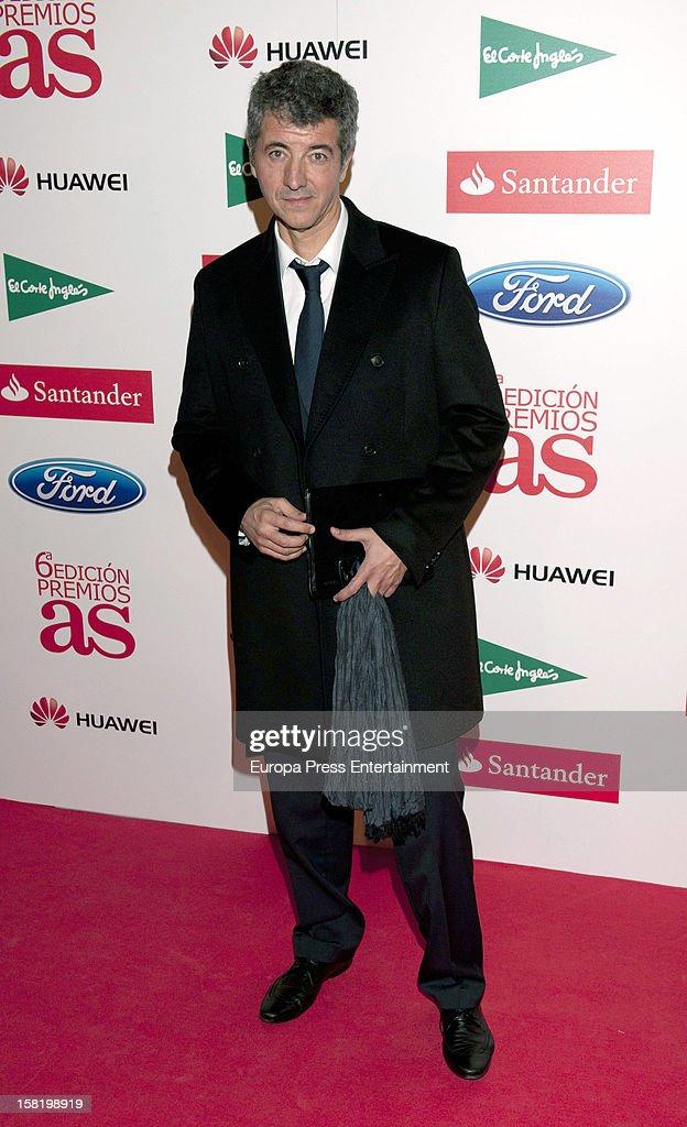 Miguel Angel Gil attends As Del Deporte' Awards 2012 on December 10, 2012 in Madrid, Spain.