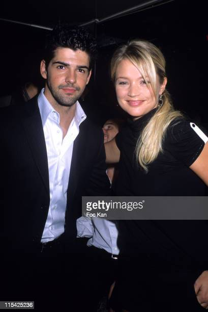 Miguel Angel Munoz and Virginie Efira during NRJ Cine Awards 2006 After Show Party at VIP Room in Paris France