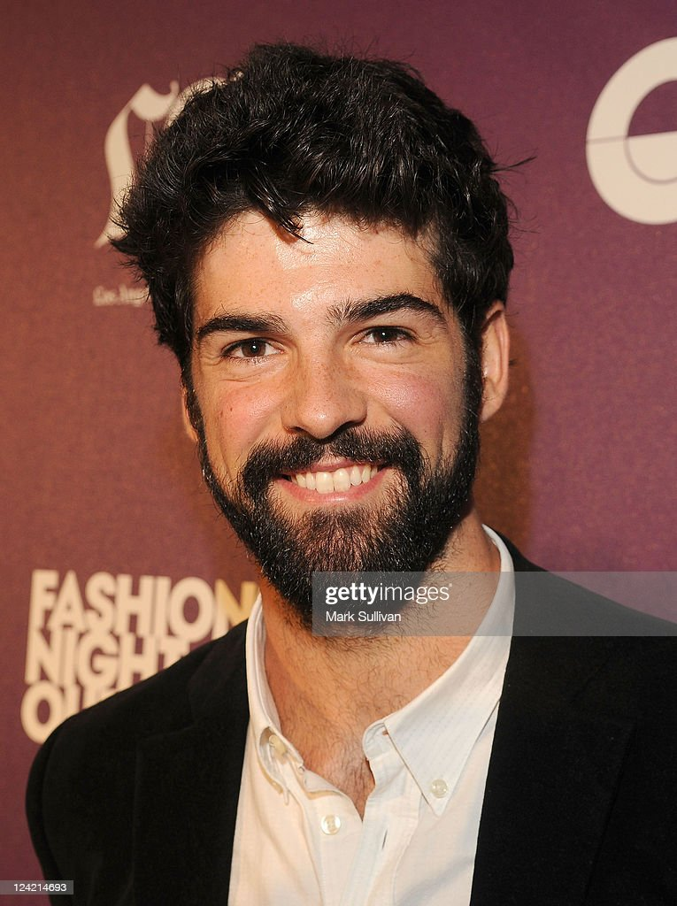 Miguel Angel Munoz arrives for Fashion's Night Out at Westfield Century City on September 8, 2011 in Los Angeles, California.