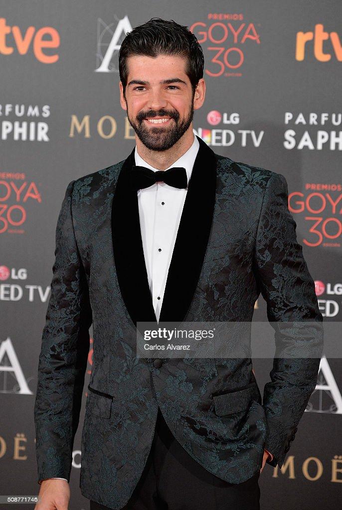 Miguel Angel Muñoz attends Goya Cinema Awards 2016 at Madrid Marriott Auditorium on February 6 2016 in Madrid Spain