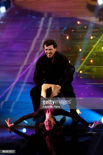 Miguel Angel Nadal attends Mira quien baila TV show at Picasso Studios on February 10 2010 in Madrid Spain