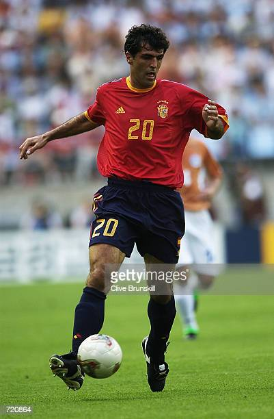 Miguel Angel Nadal of Spain in action during the Spain v Paraguay Group B World Cup Group Stage match played at the Jeonju World Cup Stadium in...