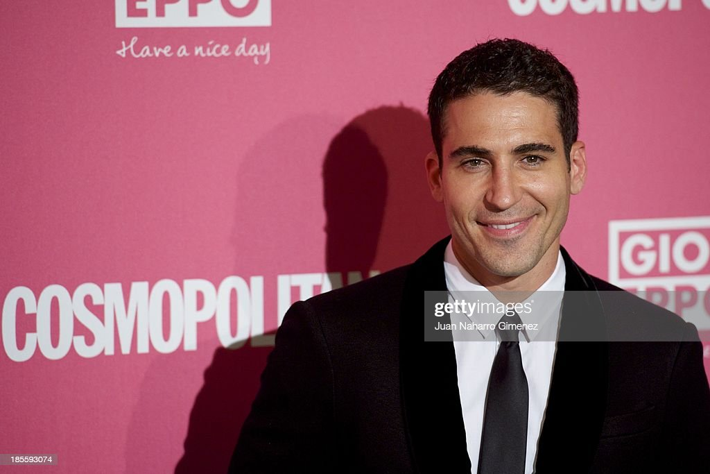 <a gi-track='captionPersonalityLinkClicked' href=/galleries/search?phrase=Miguel+Angel+Silvestre&family=editorial&specificpeople=4001600 ng-click='$event.stopPropagation()'>Miguel Angel Silvestre</a> attends the Cosmopolitan Fun Fearless Female Awards 2013 at the Ritz Hotel on October 22, 2013 in Madrid, Spain.