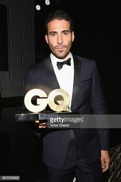 Miguel Angel Silvestre attends the GQ Men Of The Year Awards 2016 at Torre Virrelles on November 9 2016 in Mexico City Mexico