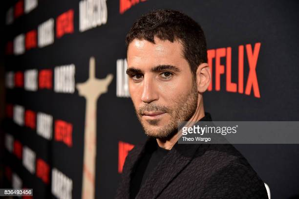 Miguel Angel Silvestre attends the 'Narcos' Season 3 New York Screening at AMC Loews Lincoln Square 13 theater on August 21 2017 in New York City
